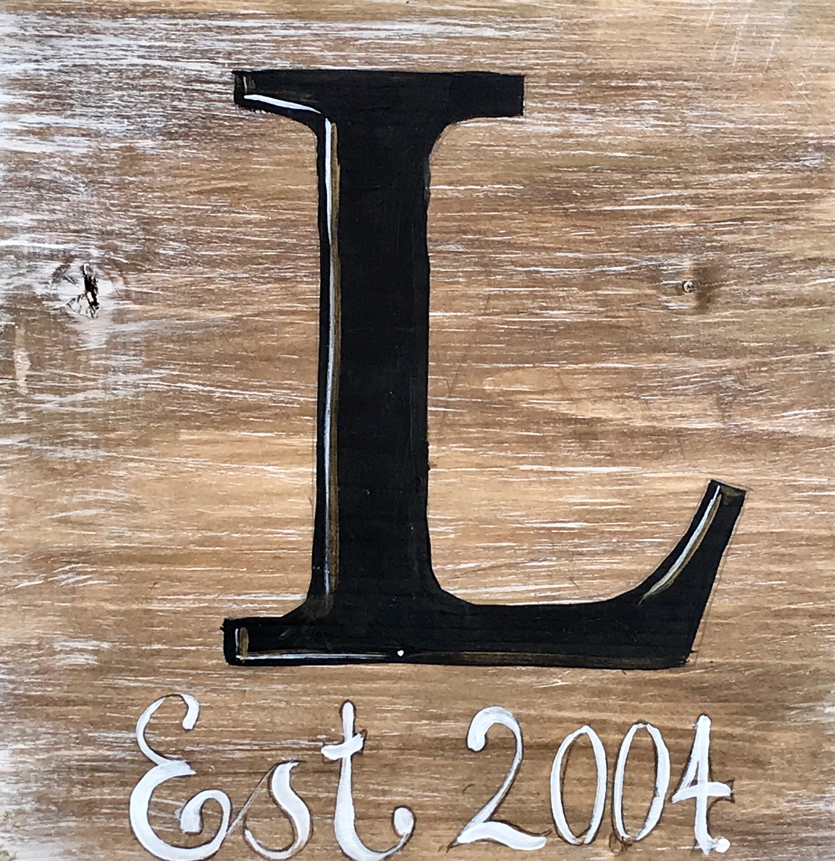 Monogram Last Name