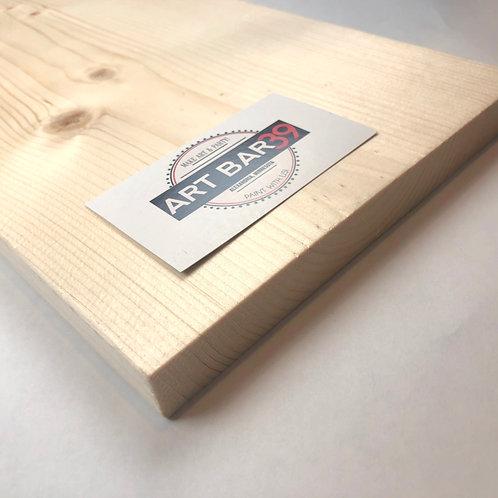 """Rustic Pine Board  7 1/4"""" x 17"""""""