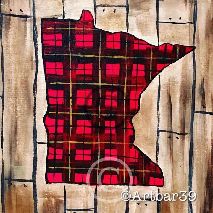 MN State Rustic Plaid