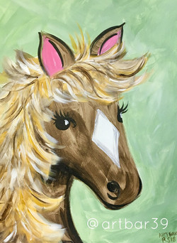 Horse - Stencil offered