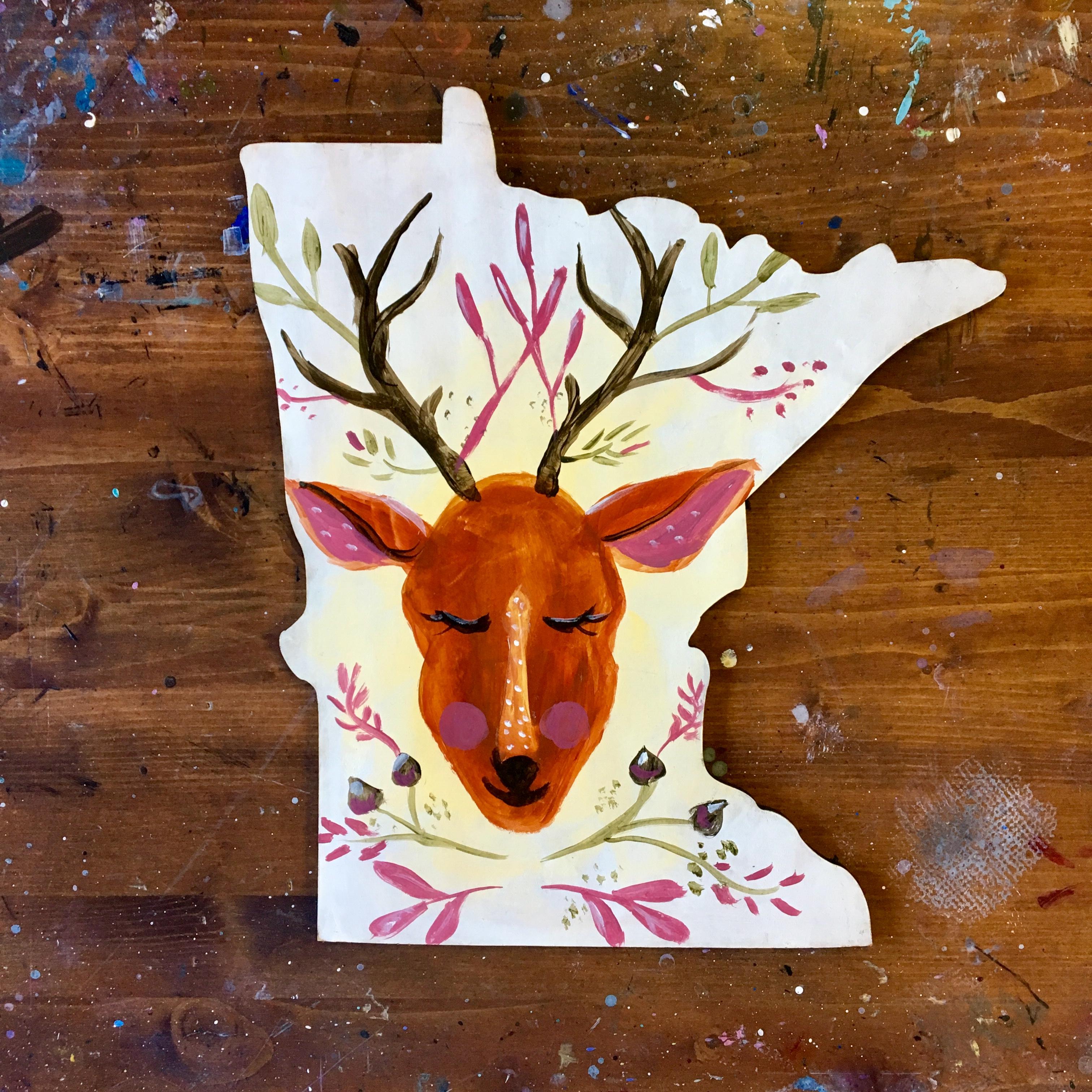 Oh Deer on MN Shape