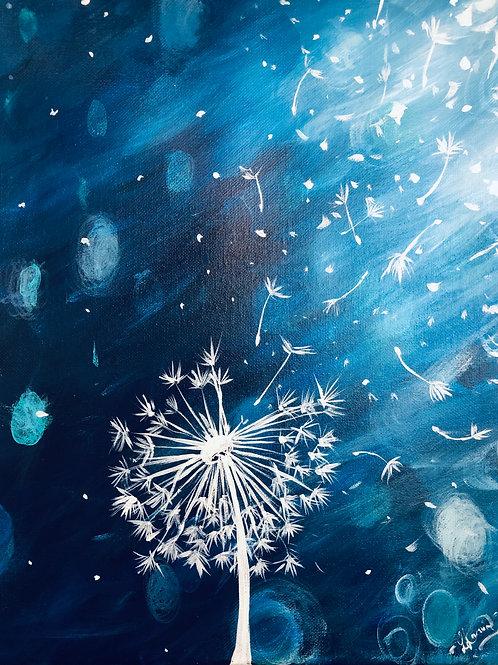 Dandelion Blues - Painting kit