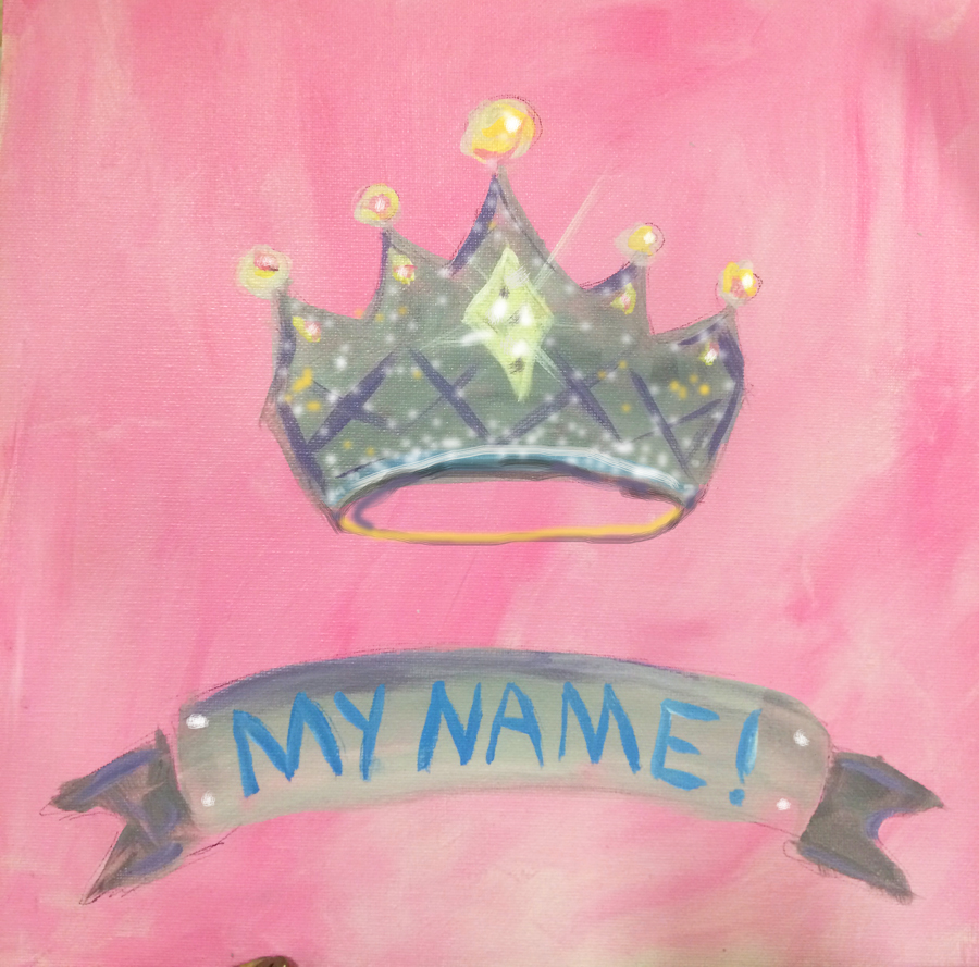 crown - custom name