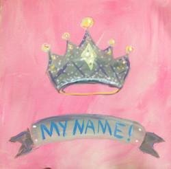 crown - custom name