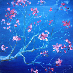 Van Gogh Cherry Blossom