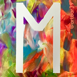 Monogram Toddler Paint
