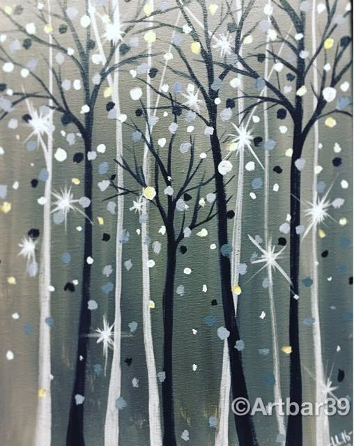 Sparkling Trees