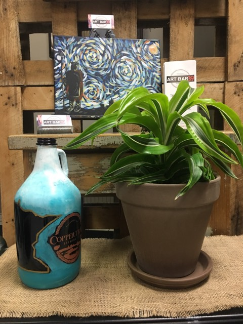 MN Teal Ombre Growler