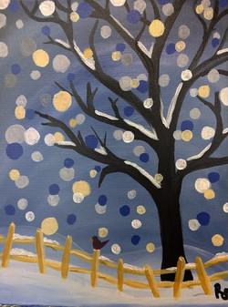 Polkadot Winter Tree