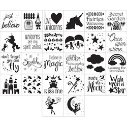 Fairy Tale Stencil Pack Options