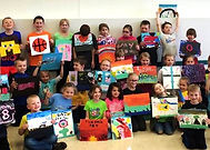 Kids Painting events, alexandria mn, things to do in alexandria, toddlers , learn at home, kids painting parties, birthday party ideas, alexandria, morris, mn, art classes for kids, creative things for kids, open studio  saturday, homeschool activities,