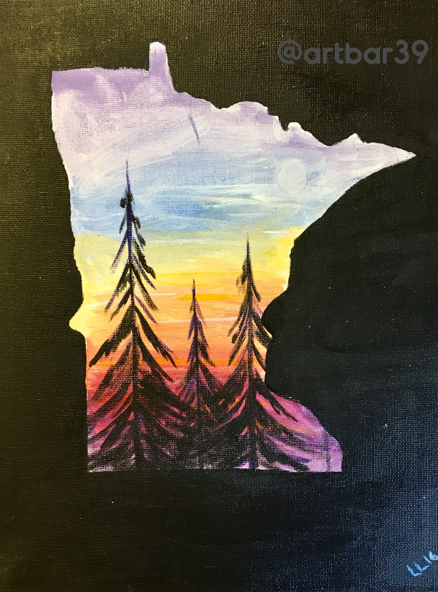 MN State Sunset
