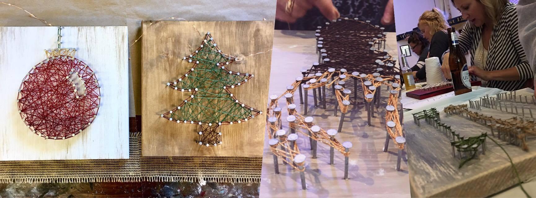 String Art - Holiday Themes