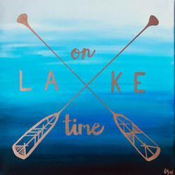 On Lake Time Oars