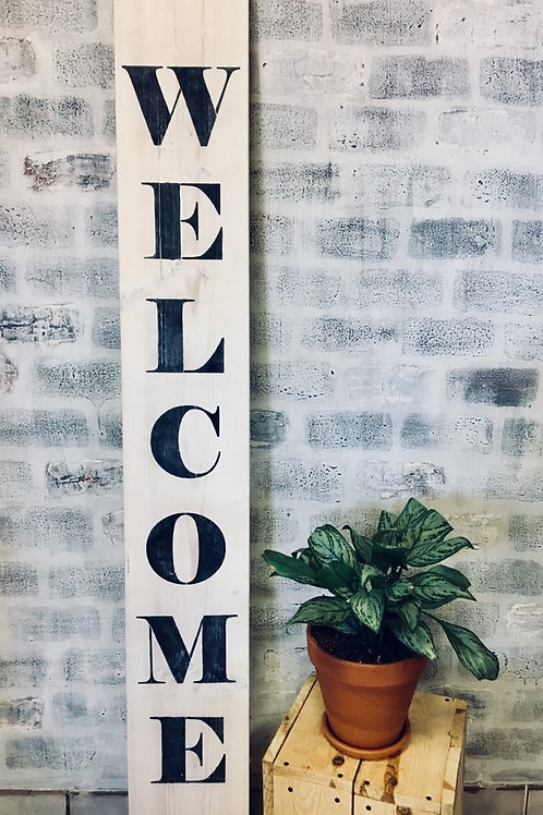DIY 6' Patio Sign KIT - Custom Welcome sign