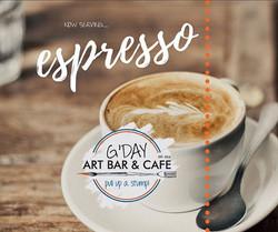 Espresso! G'day Cafe & Art Bar