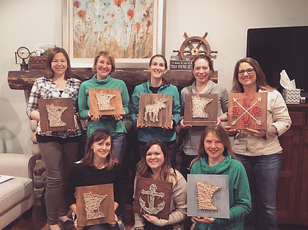 things to do alexandria MN, paint and sip, alexandria MN, Artbar39, Art Bar 39, Events in Alexandria MN, paint party, bachelorette party ideas, Central MN, Minnesota, Wine & Paint Party, Art Classes, String Art, Girls Night, family reunions