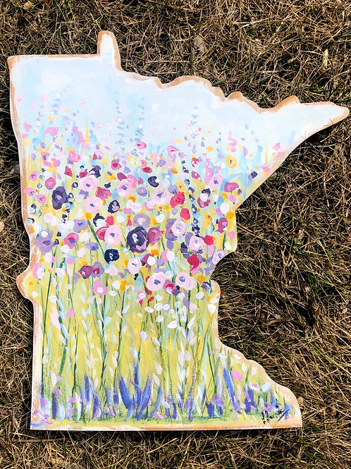 Spring Vibes MN State - Painting kit - WITH BRUSHES