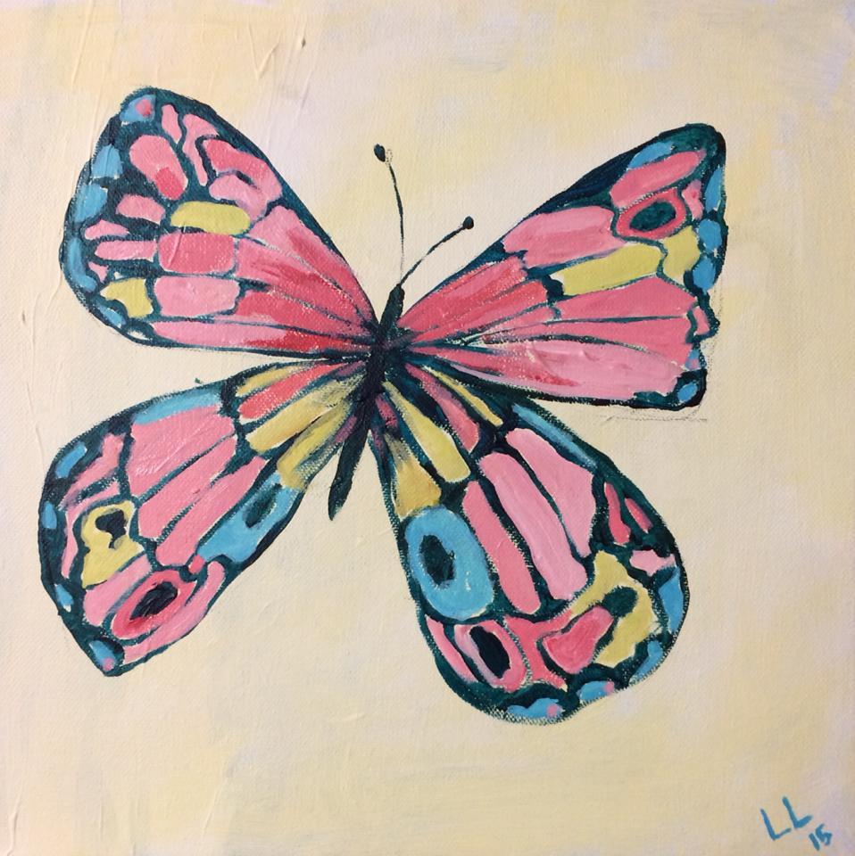 Kids butterfly