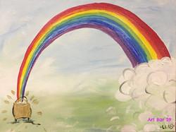 Rainbow & Gold