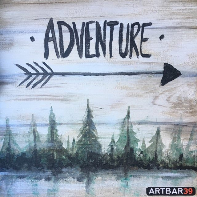 Adventure (Request on wood or Canvas