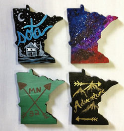 Mini MN State shapes