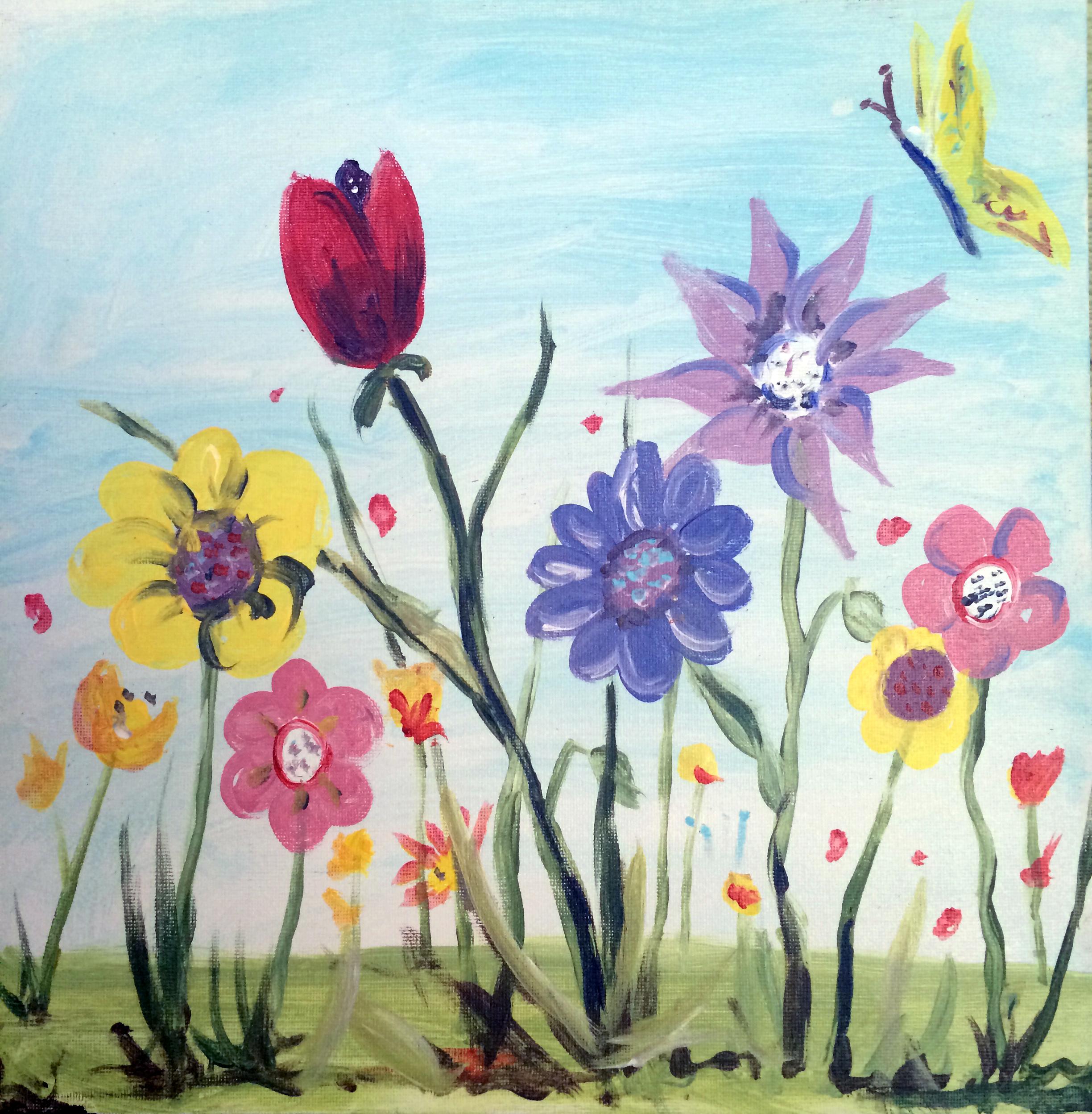 flower garden - Kids