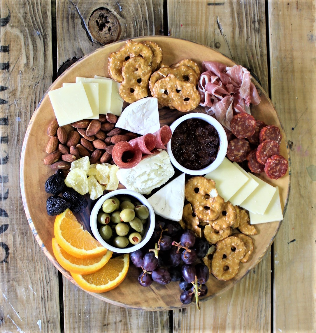 The Davinci Cheese board
