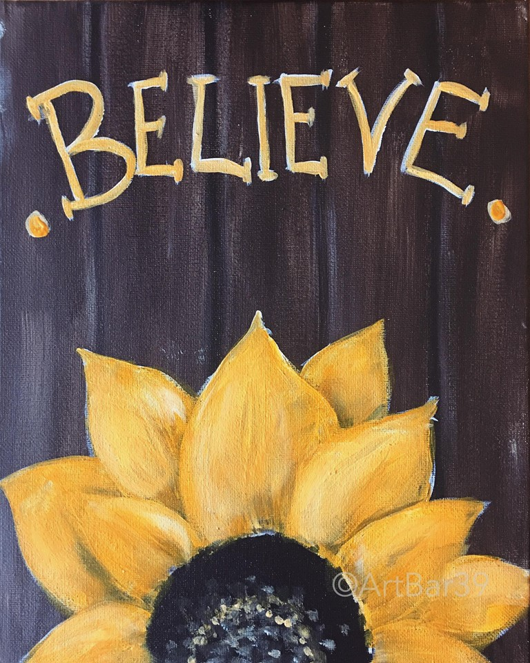 Believe Sunflower