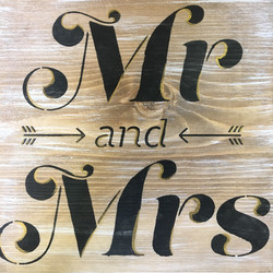 Wedding Rustic Stencil Pack