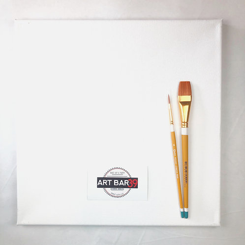 Canvas & Brushes Kit