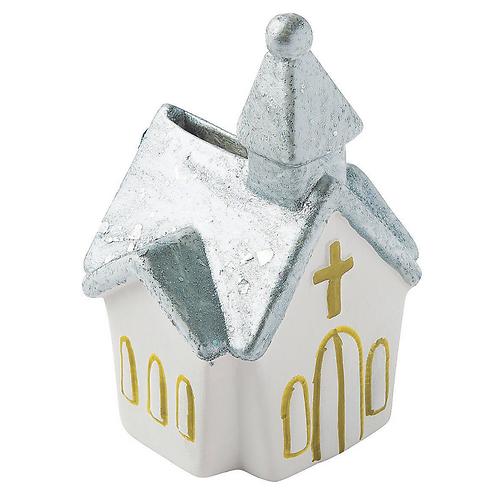 Church Ceramic Paintable figurine
