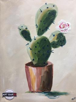Desert Bloom (Cactus)