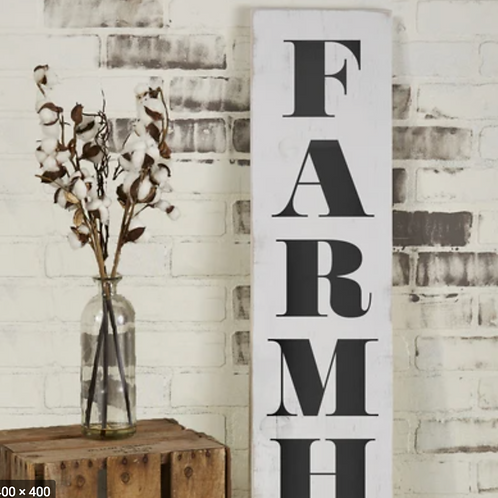 DIY 6' Patio Sign KIT - Custom Farmhouse sign