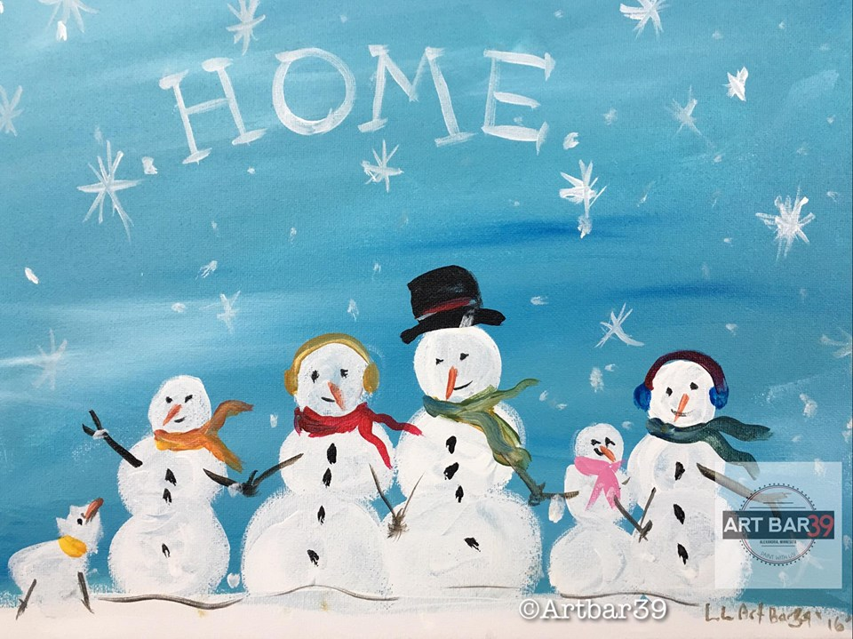 Snowman Family (home)