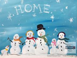 Snowman Family (home)