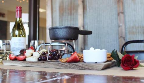 Choc Fondue dessert Platter
