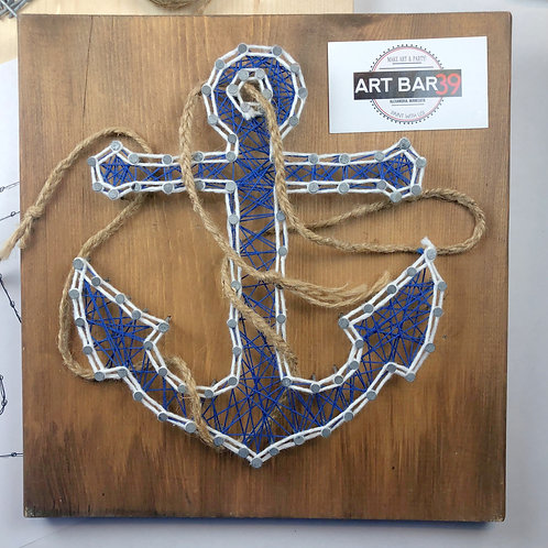 Custom String Art kit - Anchor - Without Hammer