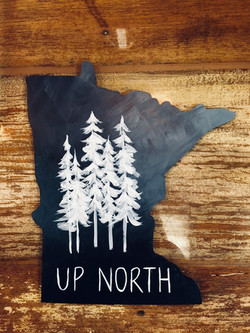 Up North Trees