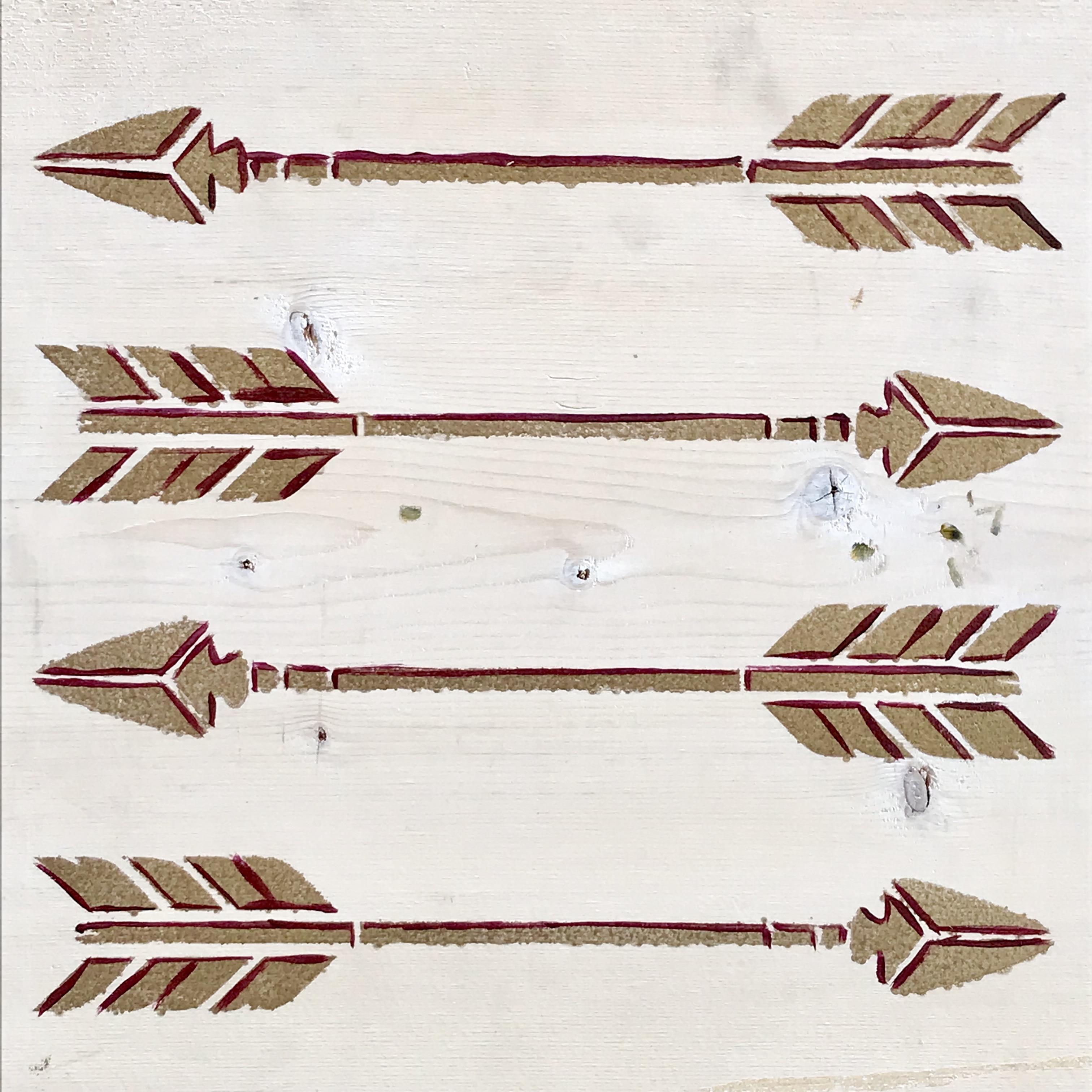 Boho Rustic Stencil Pack