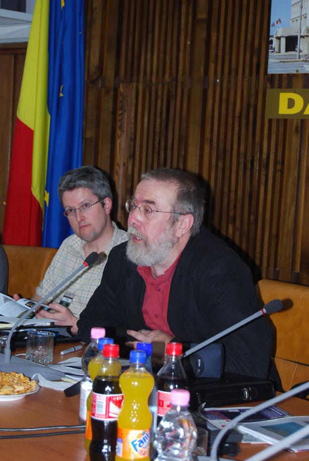 Targoviste meeting Peter Schut