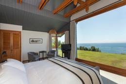 Habiotación Puerto Varas, Hotel casa Molino. Las mejores vistas, a toda hora