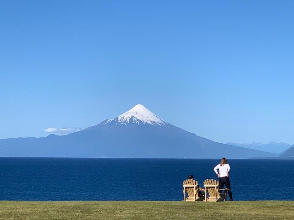 Vista volcán Osorno