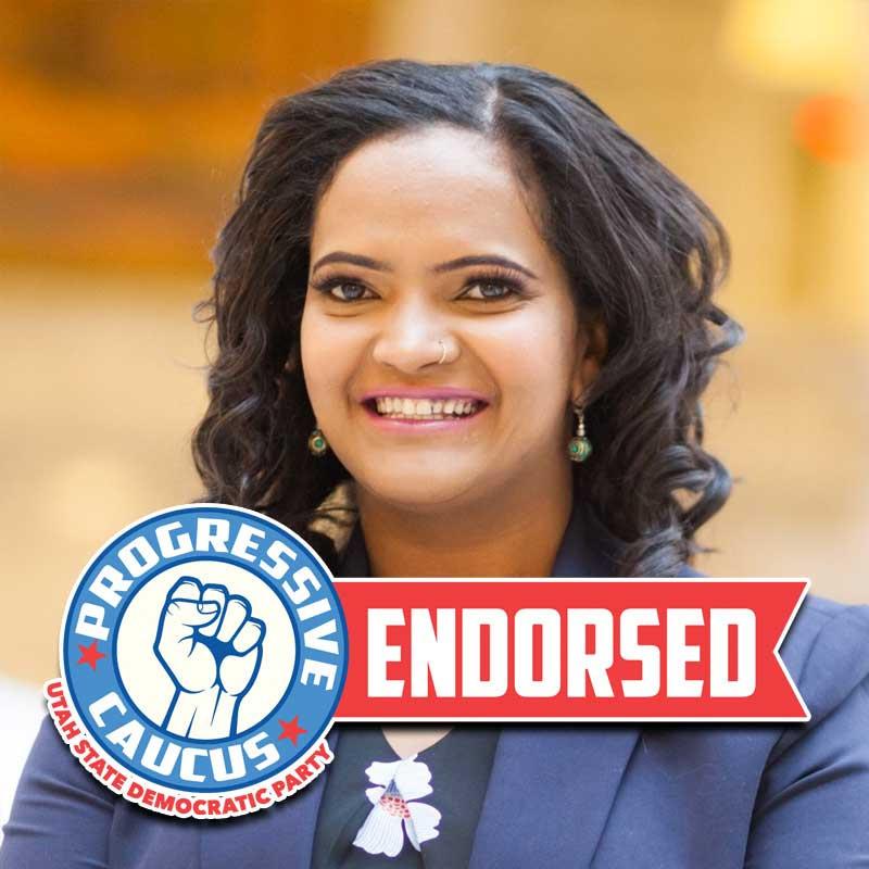 Utah State Democratic Progressive Caucus Endorsement
