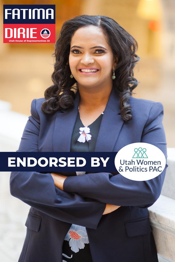 Utah Women and Politics Pac Endorsement