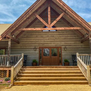 Twin River Lodge Porch