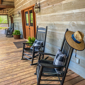 Twin River Lodge Front Porch