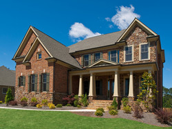 Brick/Stone Combination Custom Home