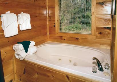 Tub in Master Suite