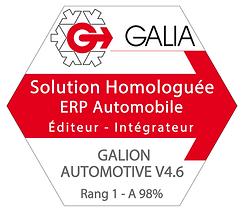 Homologation Galia